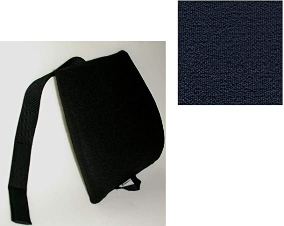 Mc Cartys Sacro-Ease Ergo Comfort Rider Seat Cushion Black Mc Carty/'s ERGO COMFORT RIDER-BLK