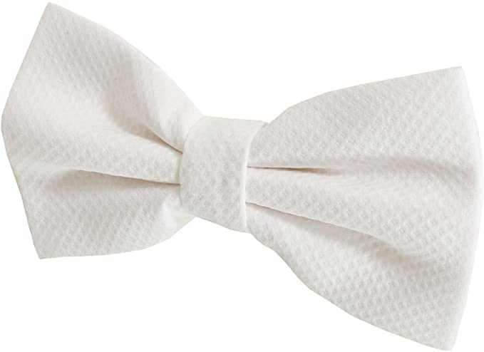 Edwardian Men's Formal Wear Dobell Mens Marcella Bow Tie 100% Cotton Pre-Tied White Tie Evening Wear Accessory £14.99 AT vintagedancer.com