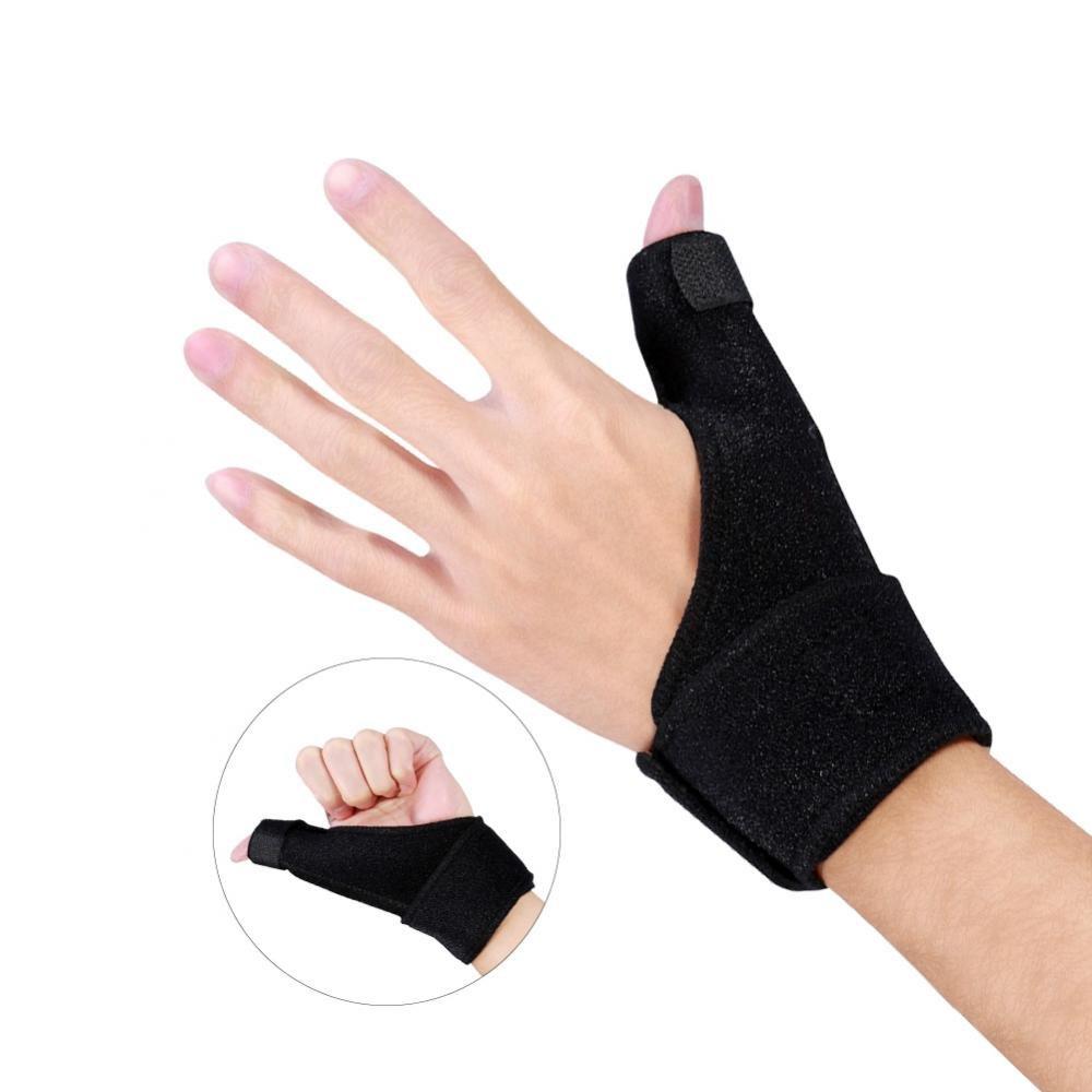 Thumb Aluminium Splint Wrist Brace,Arthritis or Soft Tissue Injuries Aid Tools for Right Hand and Left Hand