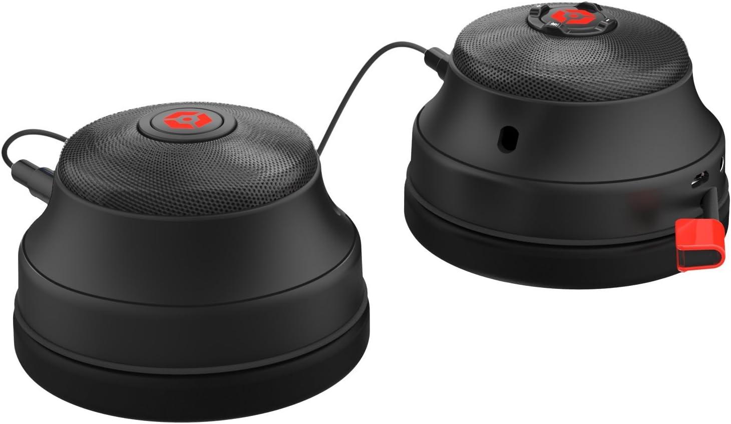 Casque de jeu st/ér/éo FL300 avec enceintes Rouge pour PS4//PS3