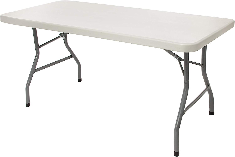 - Amazon.com: OEF Furnishings 5 Foot Heavy Duty Folding Table, 30