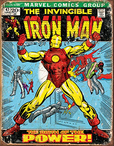 4SGM TSN1969 Iron Man Comic Cover