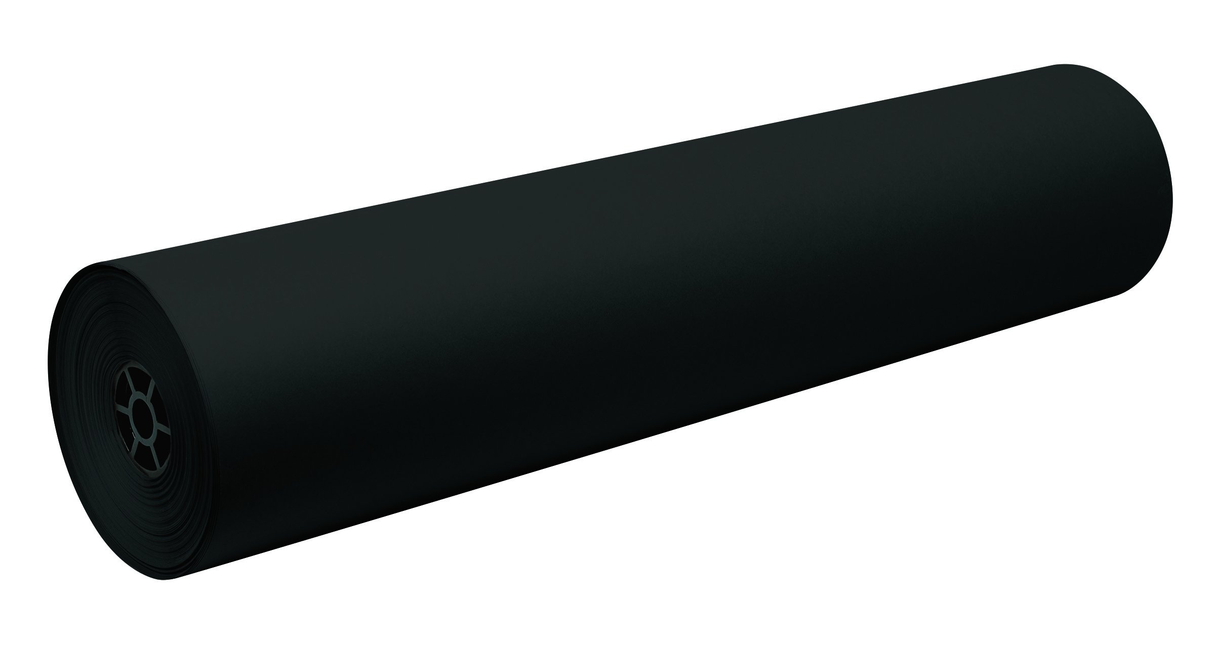 Pacon Decorol Art Paper Roll, 3-Feet by 500-Feet, Black (100600)
