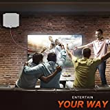 HDTV Antenna, [2019 Newest] Indoor Amplified