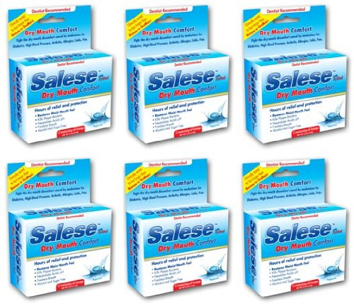 Salese Peppermint with Xylitol for Dry Mouth Relief - 6 Pack