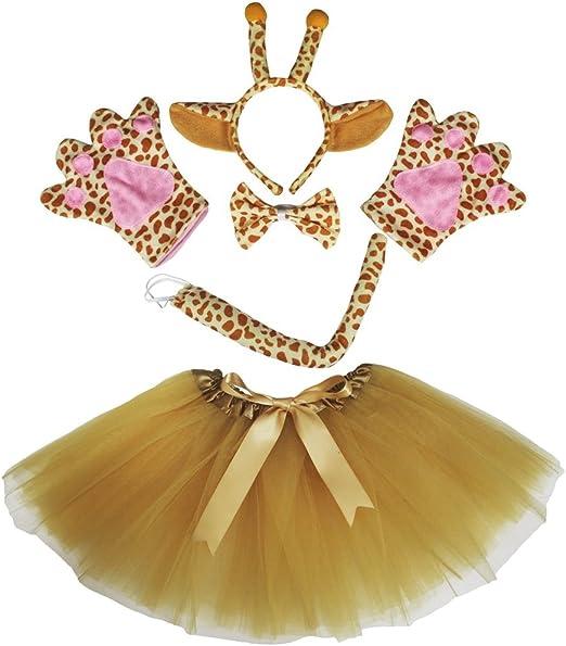 petitebelle Girafe Bandeau Nœud Papillon et Queue pour déguisement ...