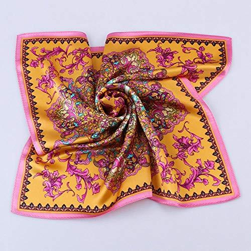 Sciarpa Donna Quadrata Bianche Seta Multicolore Cm Di Sciarpe 6qHqR0v