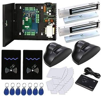 HWMATE Kit de Sistema de Control de Acceso con Lector RFID Sensor de Movimiento Fuente de