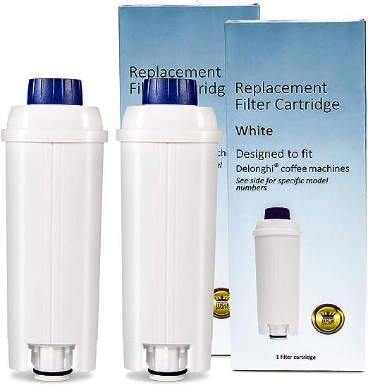 Repuesto de filtro de agua para cafetera DeLonghi DLSC002, SER3017 ...