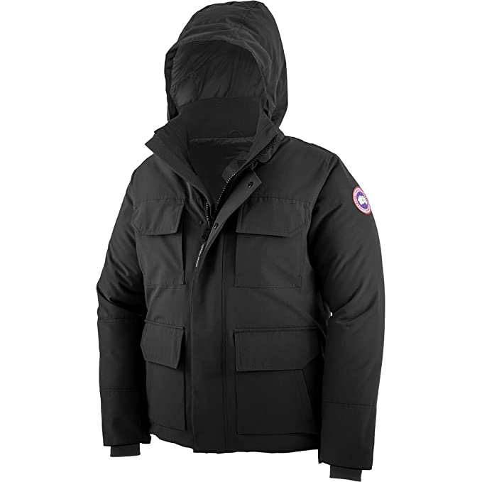 uk availability 55f1c d72bc Canada Goose Parka Uomo Maitland Nero - XL: Amazon.it ...