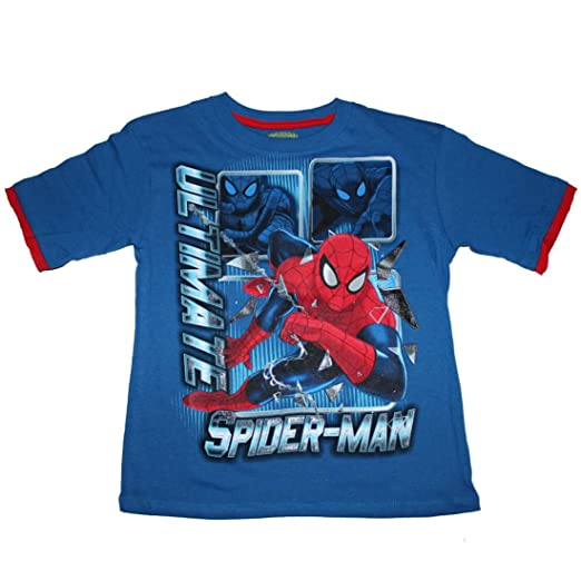 3a7ce334a Amazon.com: Marvel Ultimate Spiderman Boys T-shirt (7): Fashion T ...