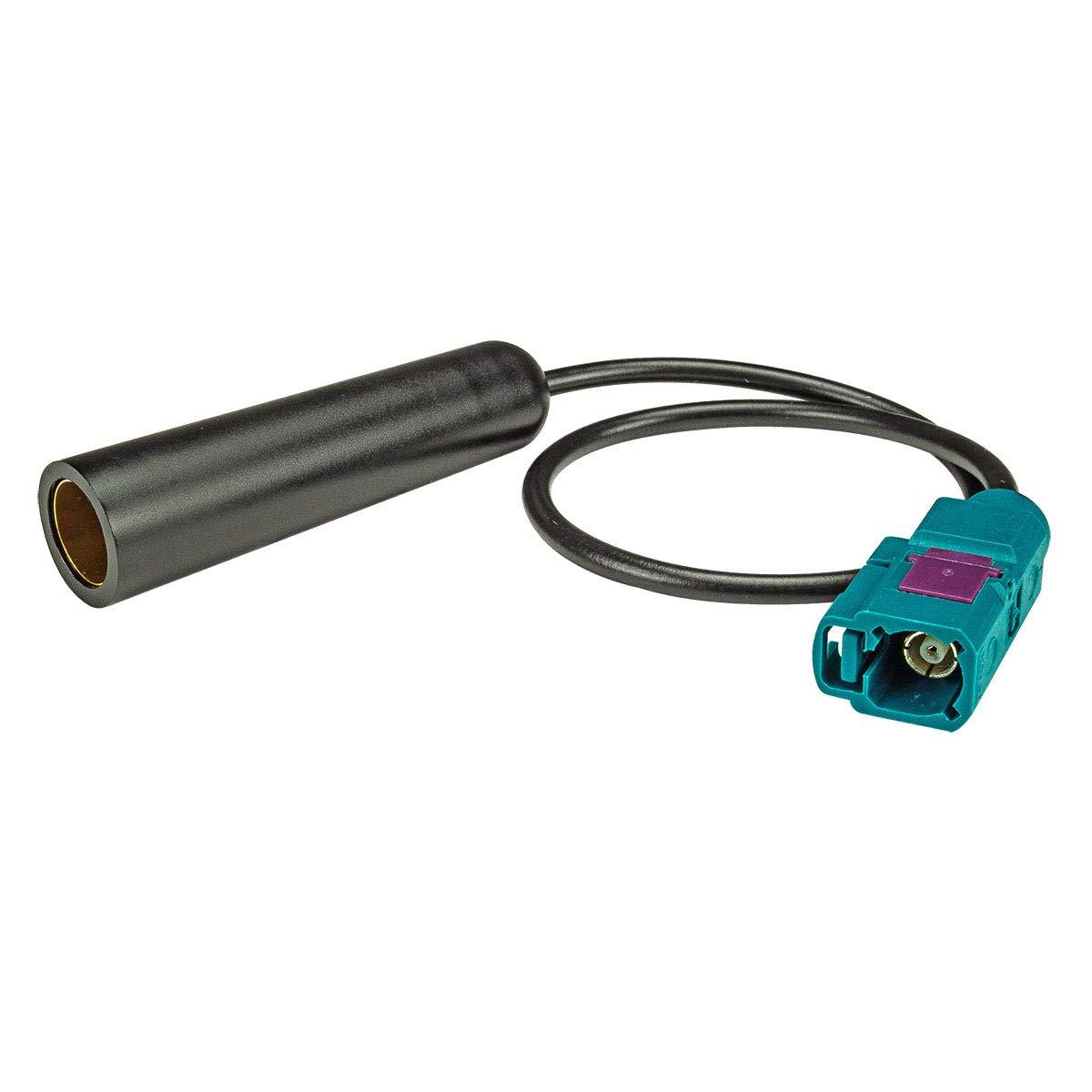 F Antennenadapter Kupplung auf DIN F tomzz Audio 1500-019 Fakra Buchse