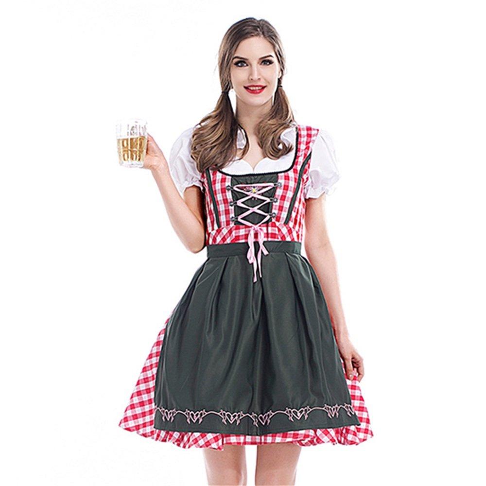 KTYX Dunkle Oktoberfest Bayerisches Traditionelles Oktoberfest Party Ballkleid Halloween Kleider (größe : XXL)