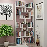 Decorotika - Kayra Accent 71'' Bookcase - Ideal for Home and Office