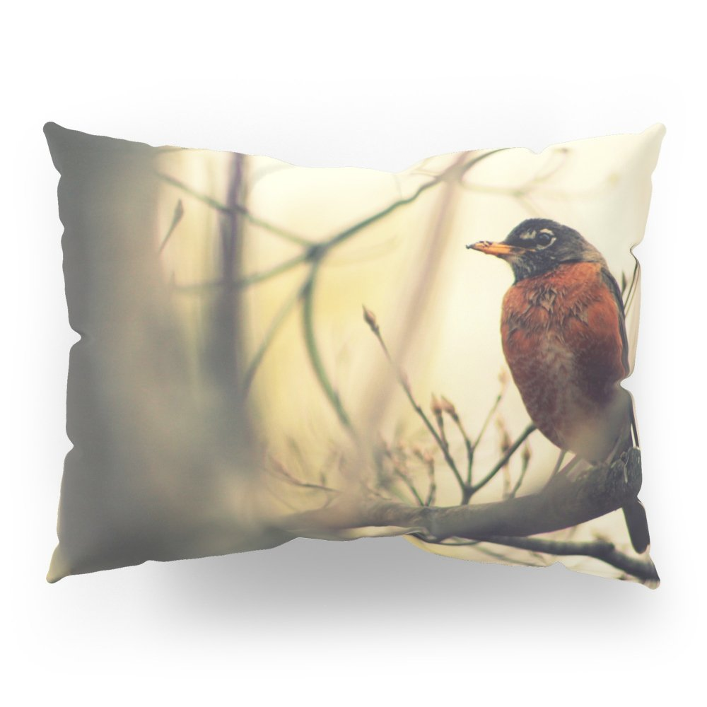 Society6 Robin In The Fall Pillow Sham Standard (20'' x 26'') Set of 2
