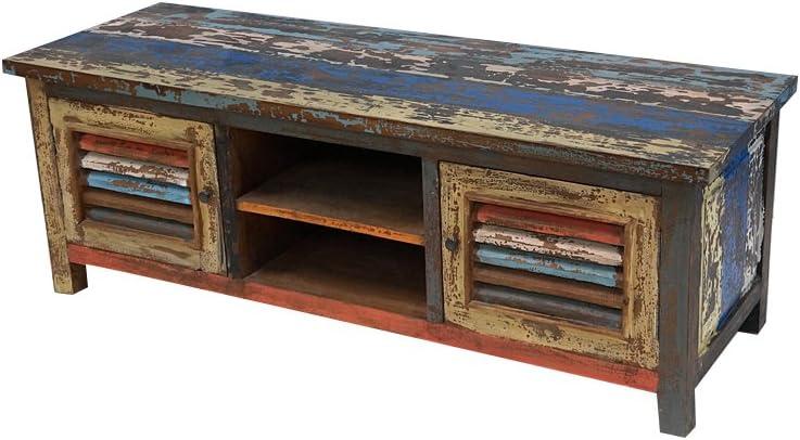 HOME BEAUTY Mesa para Televisor Vintage: Amazon.es: Hogar