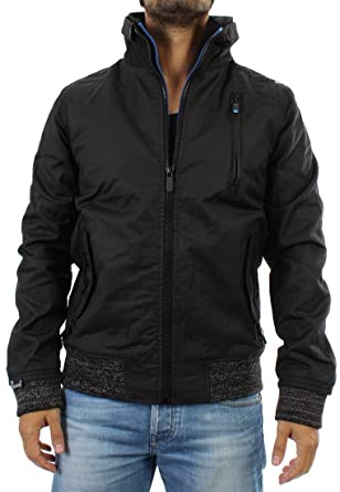 closer at attractive style dirt cheap Superdry Mens Moody Norse Bomber Jacket - Black (L 40 ...