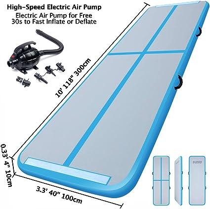 Amazon.com: Alfombrilla hinchable para piso de aire con ...