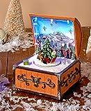 Animated Holiday Santa Music Box by GetSet2Save