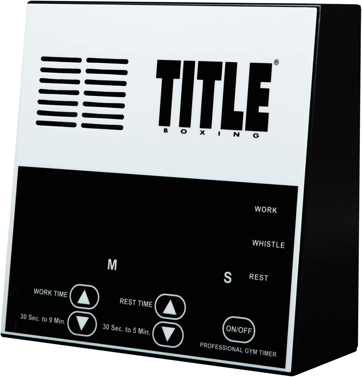 TITLE Boxing Pro Digital Gym Timer : Boxing Ring Parts And Accessories : Sports & Outdoors