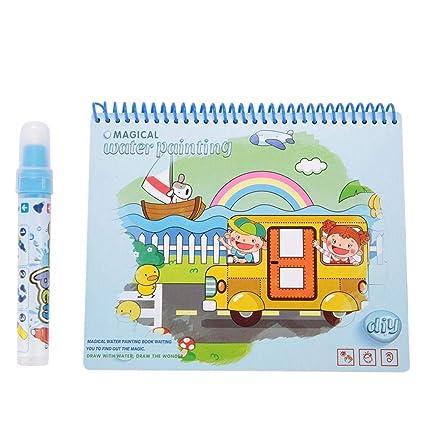 Agua Dibujo para Colorear Pintura Libro Bebé Niños Juguetes ...
