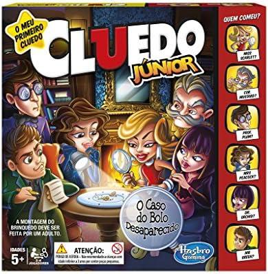 Hasbro Gaming - Cluedo junior (Hasbro C1293190) (versión en portugués): Amazon.es: Juguetes y juegos