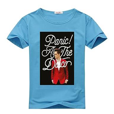 Amazon Com Diygarment Panic At The Disco Design Custom Men S Short