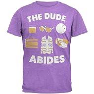 Old Glory Big Lebowski - The Dude Abides Soft T-Shirt