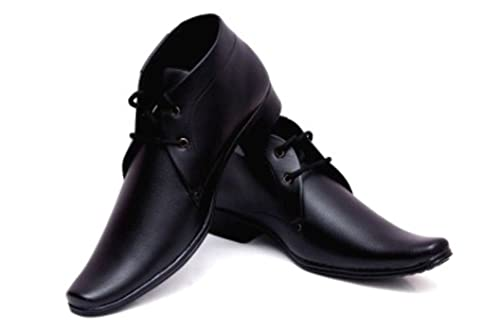 f469918ffc4 Deekada Mens Black Brown Boot Formal Offical Shoes  Buy Online at Low  Prices in India - Amazon.in