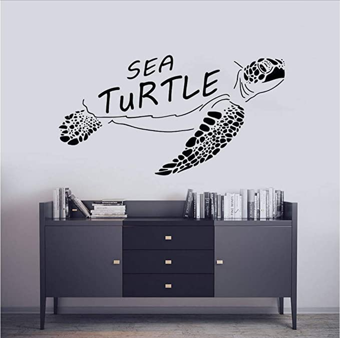 Lkfqjd Ocean Life Tatuajes De Pared Etiqueta De Vinilo De Pared ...
