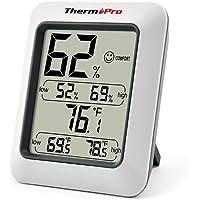 ThermoPro TP50 Termometro Igrometro Digitale/Termoigrometro Misura la Temperatura e l'Umidità per Interni