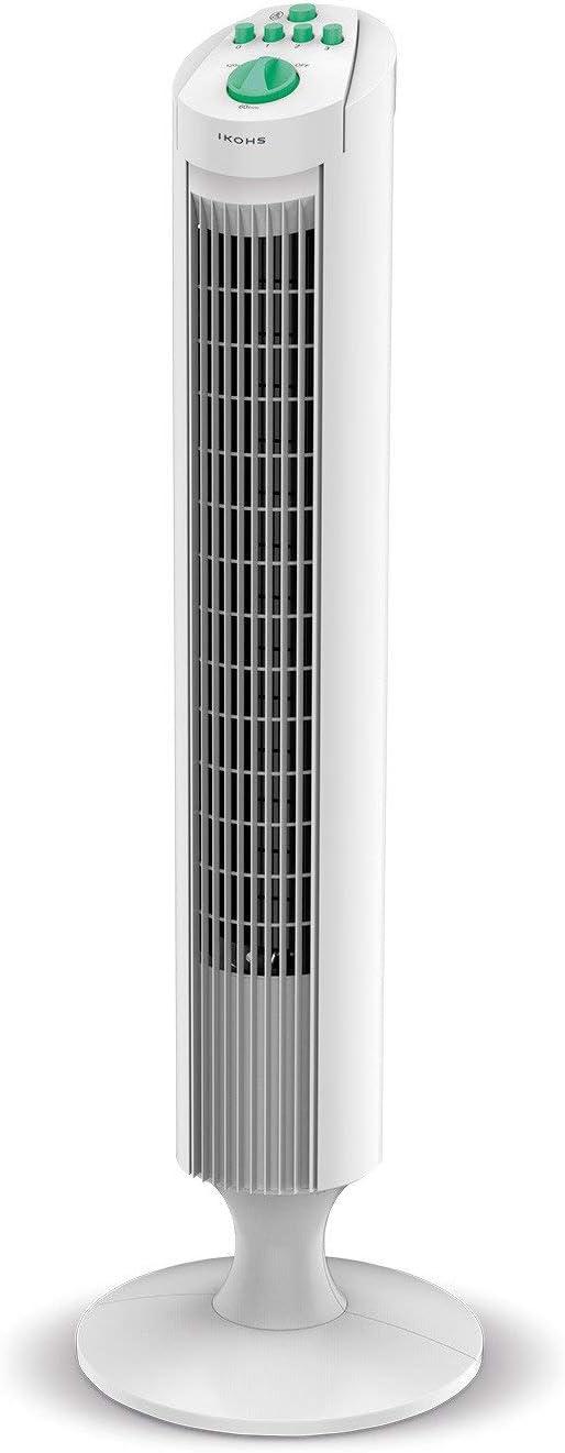 IKOHS EMPIREWIND - Ventilador de Torre Silencioso, Movimiento ...