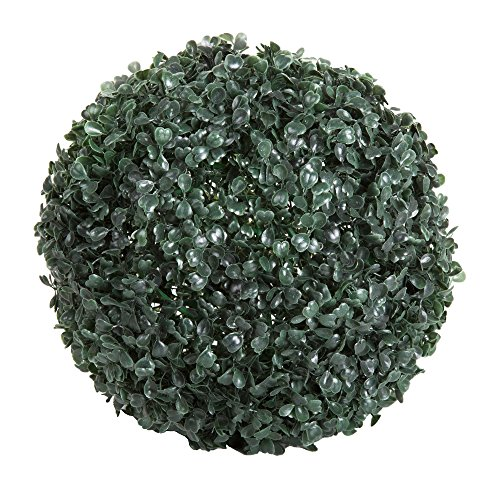 Pure Garden 50-128 20 LED Topiary Solar Light Ball, White by Pure Garden