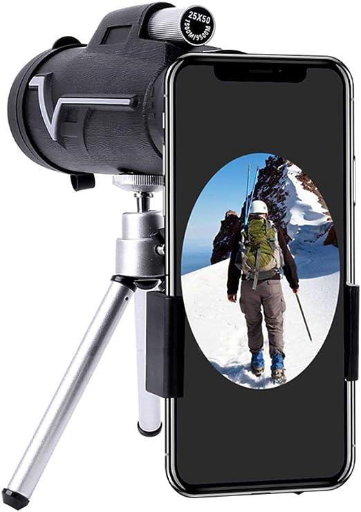 MYMGG Lente para el teléfono 10X Zoom para Smartphone Telescopio ...