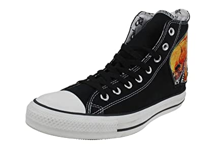 Converse All Star Limited Edition Metallica Skull Schwarz 8,5 42