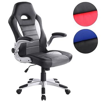 Miadomodo – BDS23schwarz - Silla de oficina moderna – Negro elegir