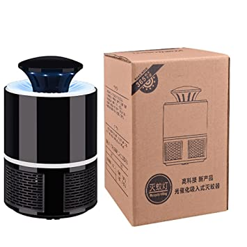 Electric Fly Bug Mosquito Insect Killer LED Light Trap Lamp Pest Control Safe