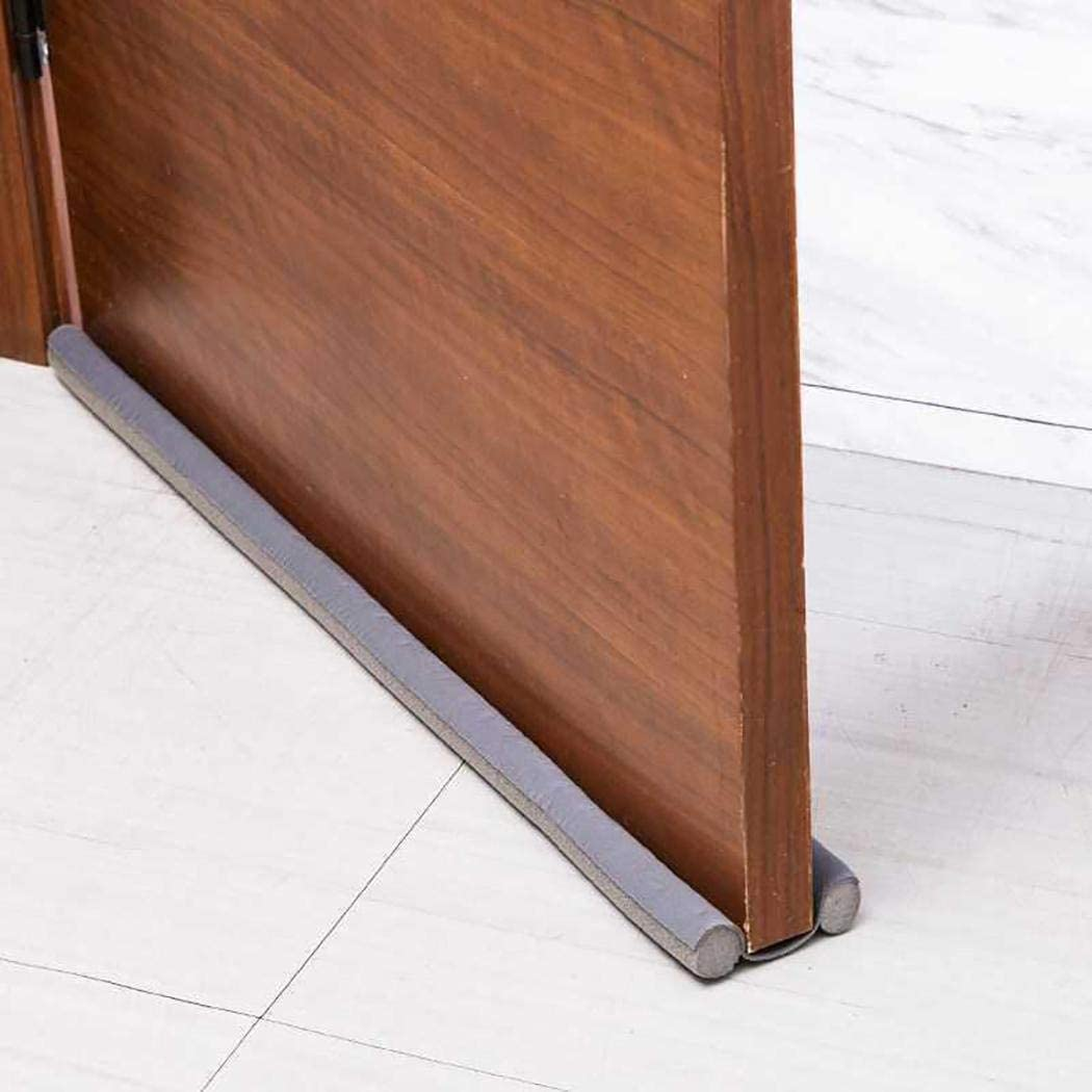 hiriyt New Bottom Door Draft Stoppe Seal Gap Blocker Soundproof Door Sweep Doorstops