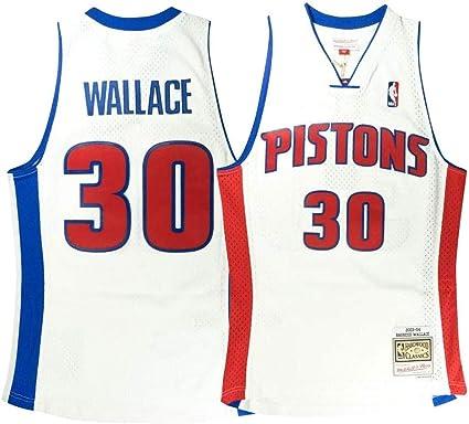 Amazon.com: Outerstuff Youth Rasheed Wallace Detroit Pistons ...