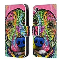 Official Dean Russo Take Me Home Please Dogs 3 Leather Book Wallet Case Cover For HTC Desire 320