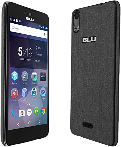 Full Coverage Skinomi Brushed Steel Full Body Skin Compatible with BLU Bold N1 TechSkin with Anti-Bubble Clear Film Screen Protector