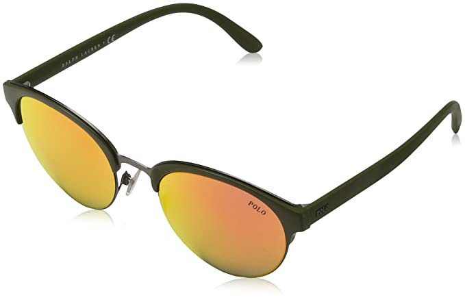 Ralph Lauren Polo 0PH4127, Gafas de Sol para Hombre, Demi Shiny Gunmetal, 51