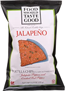 Jalapeno Tortilla Chips 5.50 Ounces (Case of 12)