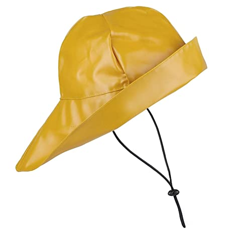 Sowester Hat (Sou wester) classic - Mustard Yellow  Amazon.co.uk  Sports    Outdoors 99009fec7923