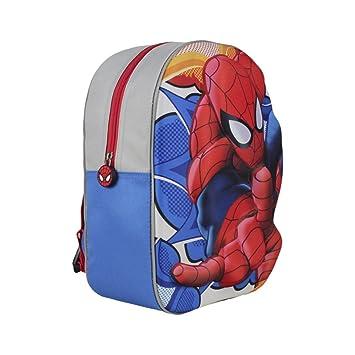 Mochila Tiempo Libre con Relieve 3D eva de Spiderman: Amazon.es: Equipaje