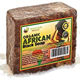 Organic African Black Soap | Best for Acne | Treatment Eczema | Dry Skin | Psoriasis Scar Removal Dandruff Pimples Mark Removal Anti-fungal Face & Body Wash