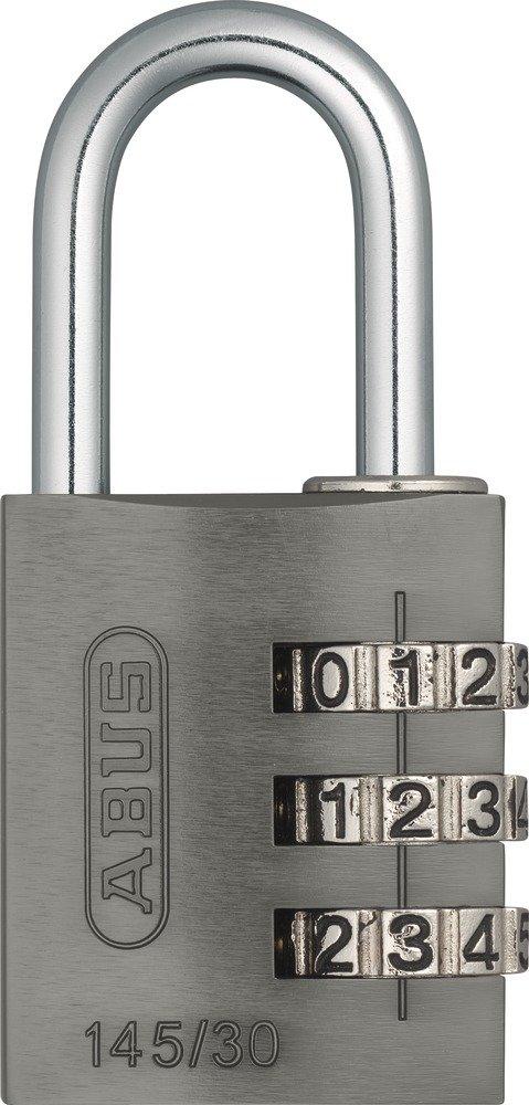 ABUS 145//30 Cadenas /à combinaison Titane