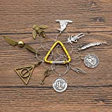 Potter Wine Glass Charms Drink Markers