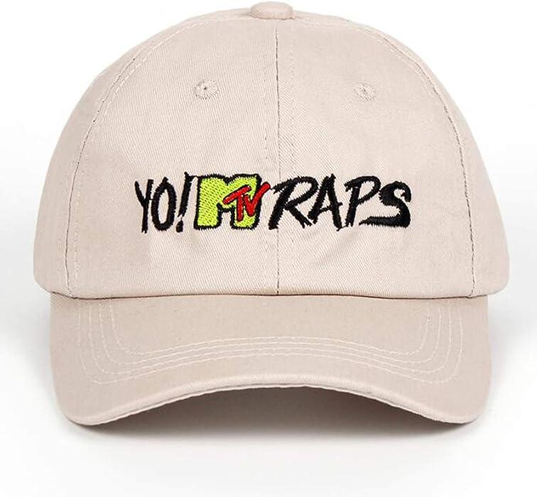 MTV RAPS Baseball Cap Casquette de Marque Gorras Planas dad hat Hip hop caps for Women Men Casual Hats Beige at Amazon Womens Clothing store: