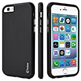 iPhone 6 Case,iPhone 6s Case,Vakoo Armor Impact Resistant Rugged Durable Shockproof Dual Layer Heavy Duty Protection Case Cover for Apple iPhone 6/ 6S (Black)